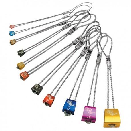 Set Chocks  комплект закладок (8 шт)